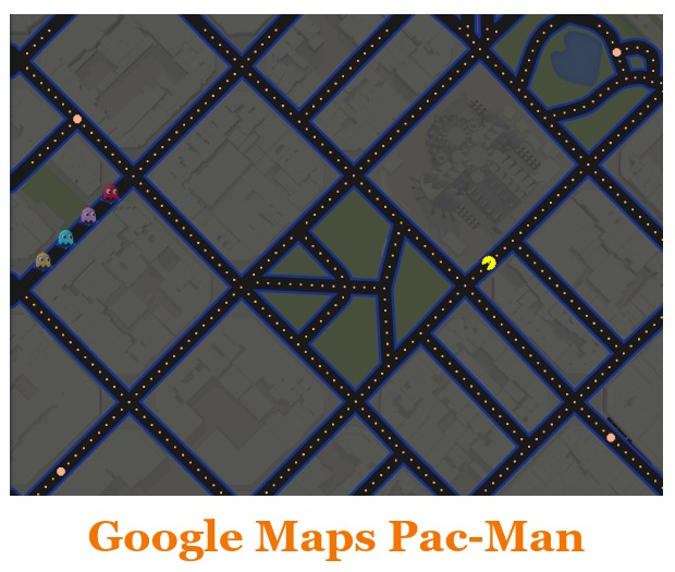 Google Maps April Fools 2015