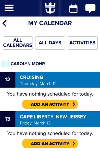 Quantum App Calendar