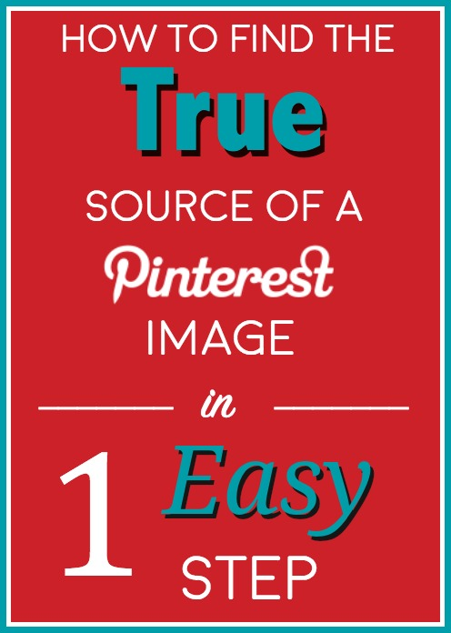 How to Find the True Source of a Pinterest Image in 1 Easy Step!
