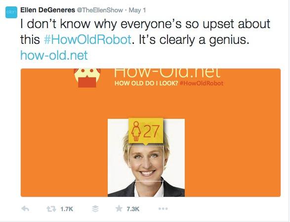 How Old Twitter Ellen Show