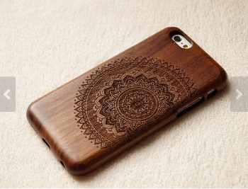 iPhone Android Wooden Case