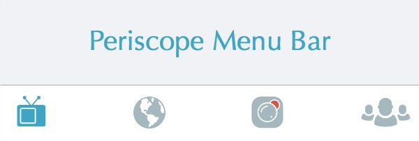 Periscope Icons