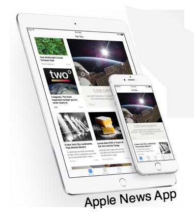 Apple News App iOS 9