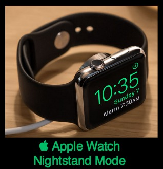Apple Watch Nightstand OS 2