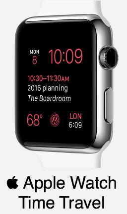 Apple Watch OS 2 Time Travel