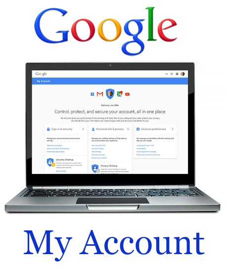 Google My Account Settings