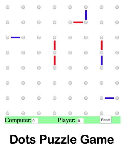 Dots Puzzle Website