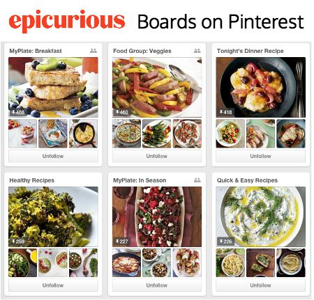 Epicurious pinterest your recipe for cooking success epicurious pinterest boards forumfinder Choice Image