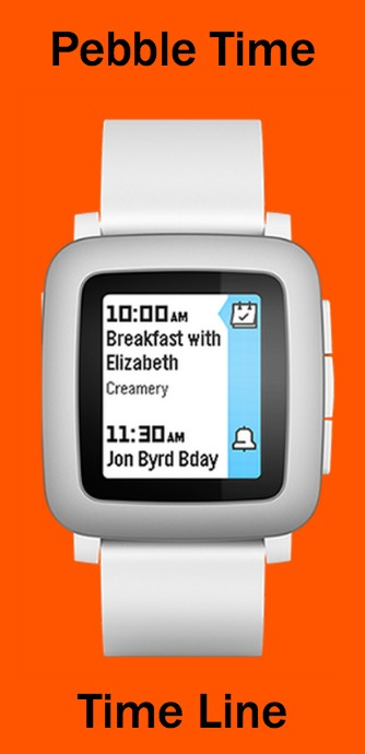 Pebble Time Calendar Feature