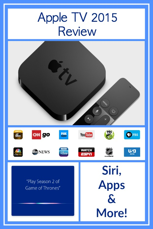 Apple TV 2015 Review – Siri, Apps + More!