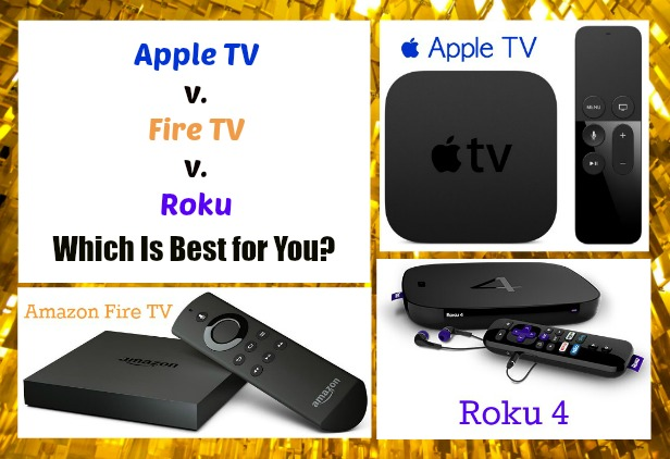 Apple TV, Fire TV or Roku: Which Is Best for You?