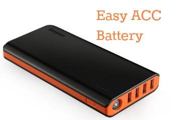 External Battery Easy ACC