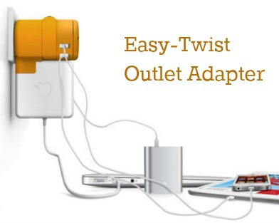 Easy Twist Outlet Adapter 4 devices