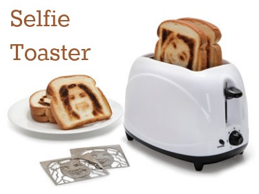 Toaster with Selfies
