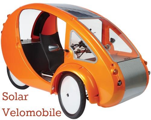 Solar Powered Bicycle Car