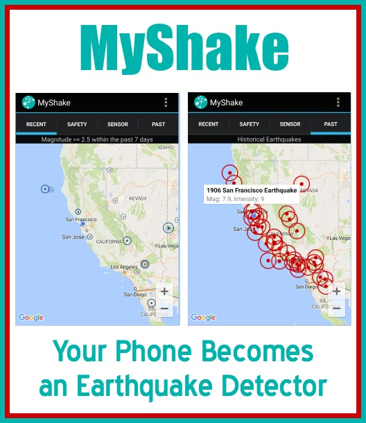 MyShake: Your Phone Becomes an Earthquake Detector