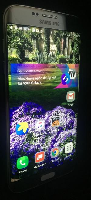 S7 Edge Screen