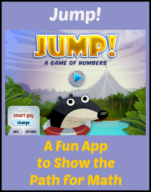 Learn math while having fun with Jump!, an adaptive and addictive app.