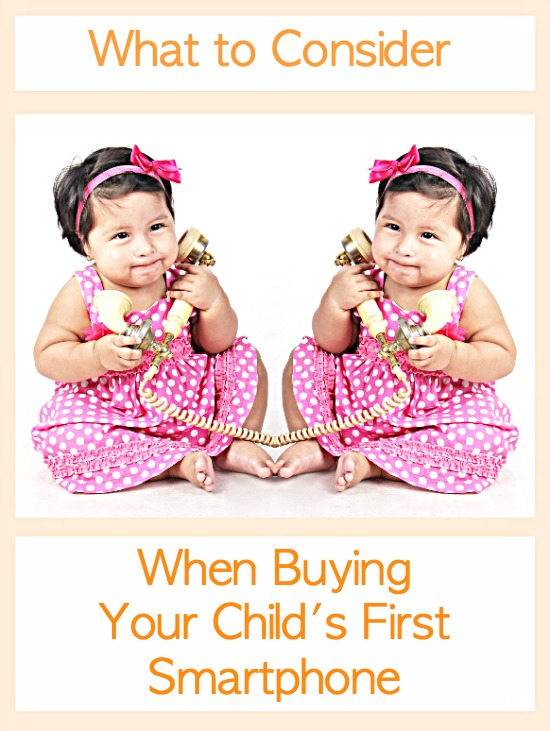 What to Consider When Buying Your Child's First Smartphone