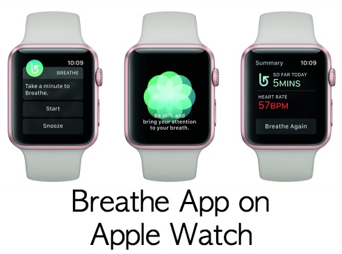 WatchOS 3 Breathe App