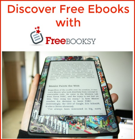 Discover Free Ebooks with Freebooksy