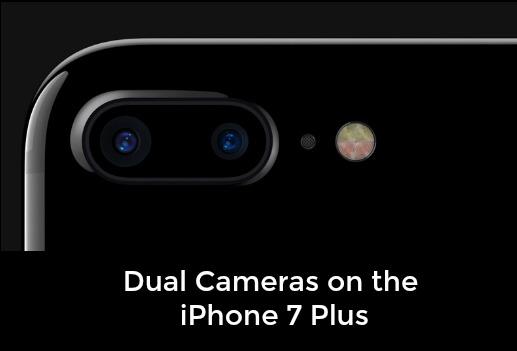 iPhone 7 Plus rear cameras