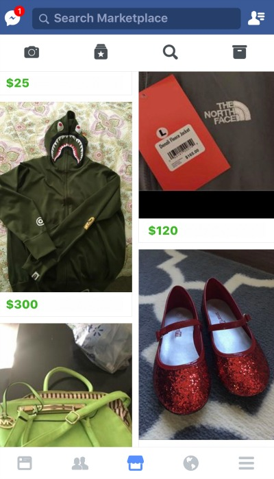 Facebook Marketplace Sample Listing