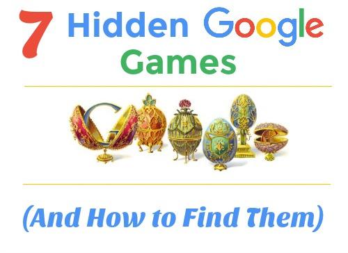 Google 7 Hidden Games