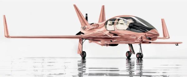 Neiman Marcus Rose Gold Jet