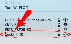 Tethering to a Wi-Fi Hotspot
