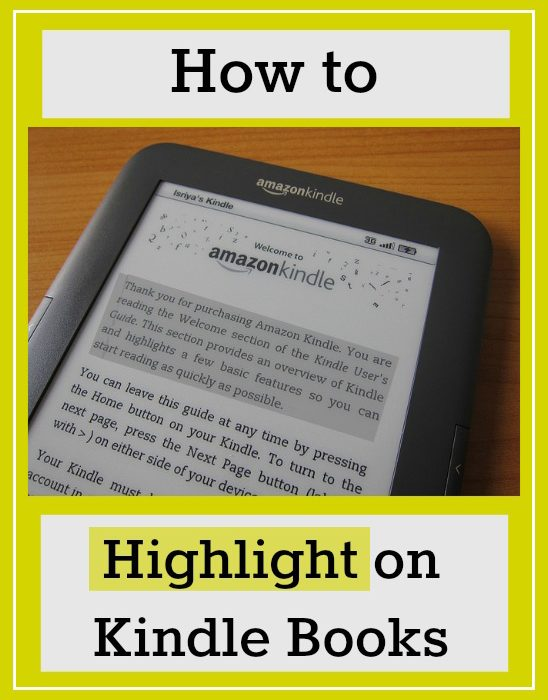 How to Highlight in Kindle Books and See What Others Have Highlighted