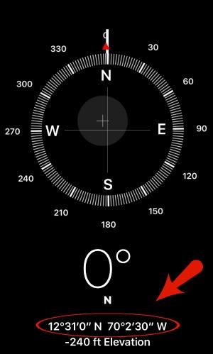 How To Find Handy Helpful And Hidden Tools In IPhones Compass App - Elevation measurement app