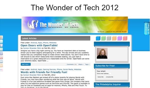 The Wayback Machine The Wonder of Tech 2012