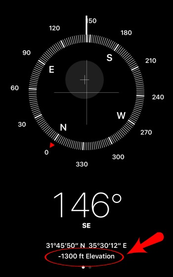 How To Find Handy Helpful And Hidden Tools In IPhones Compass App - Best altitude app