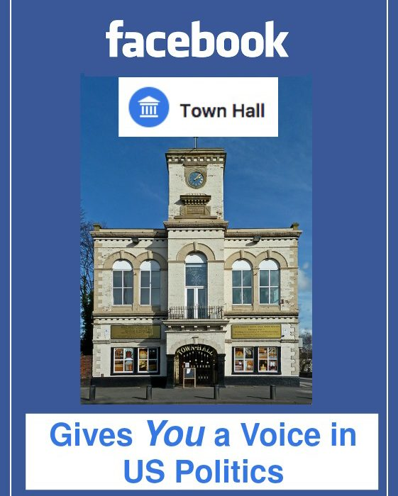 Facebook Town Hall Gives You a Voice in US Politics