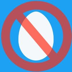 Twitter Eggs Blocked