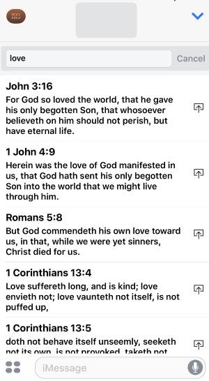 Bible App Scripture Stickers
