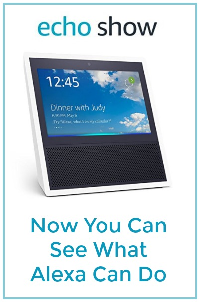 Find out about Amazon's new Echo Show that lets you see what Alexa can do.