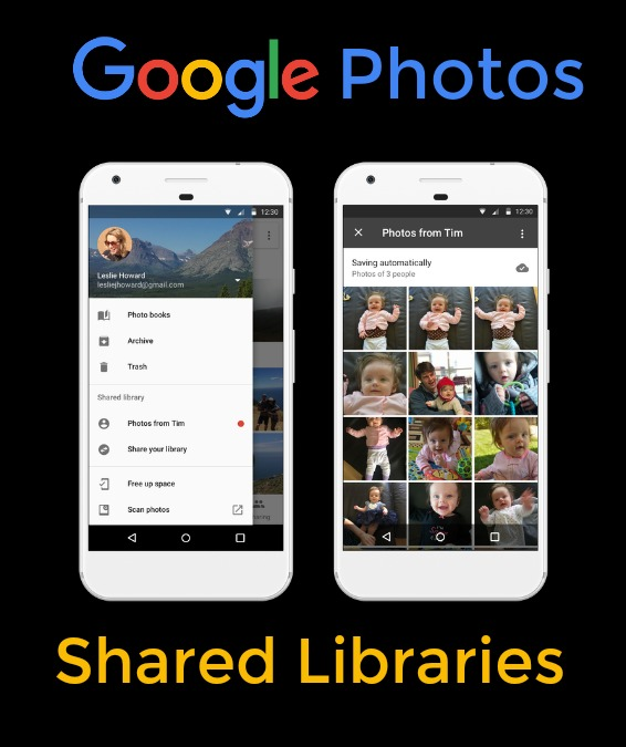 Shared Libraries in Google Photos