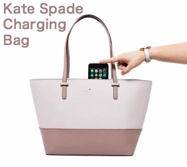 Kate Spade Charging Bag Everpurse