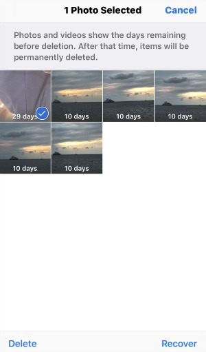 how to get deleted photos back on your phone