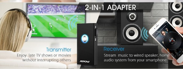 Mpow Wireless Transmitter and Receiver