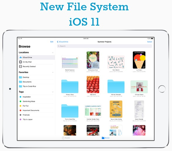 iOS 11 New File System