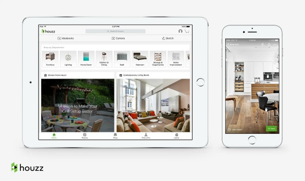 7 helpful home improvement and design apps infographic Houzz design app