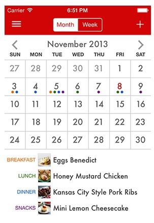 Paprika Meal Plan Calendar