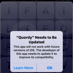 32 Bit Apps Need to be Updated