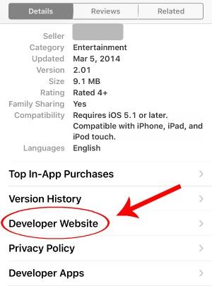 Contact App Developer