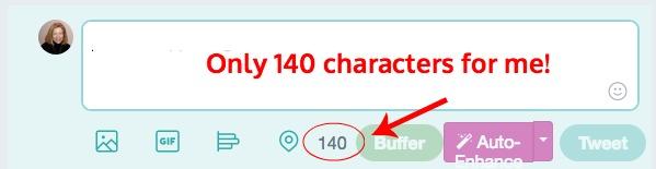 140 Characters versus 280