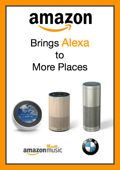 Learn about big announcements from Amazon, expanding Alexa's usefulness with new devices and skills.