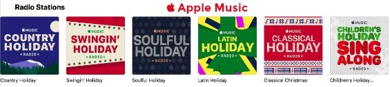 Holiday Radio Stations Apple Music 2017